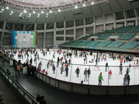 大阪 市立 浪速 アイス スケート 場