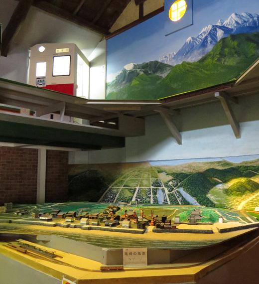 蔵の駅・かめざき鉄道ジオラマ館