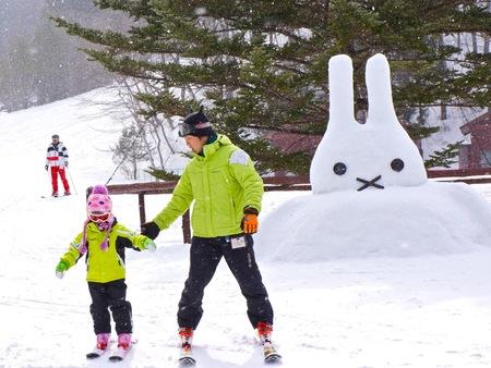 かたし な 高原 スキー 場