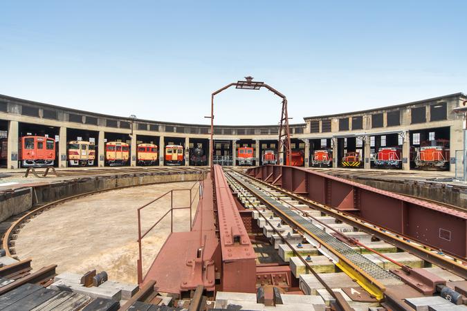 津山まなびの鉄道館