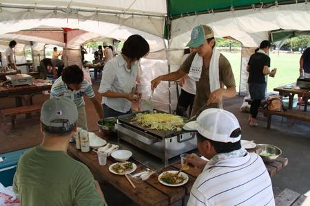 県民公園太閤山ランド バーベキューコーナー