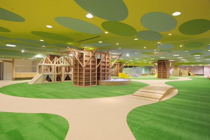 旭川市こども向け屋内遊戯場 もりもりパーク