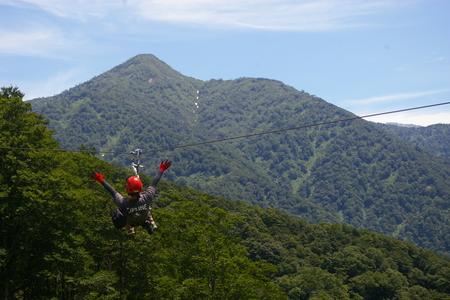 ジップライン・アドベンチャー立山