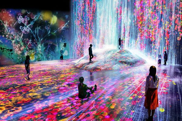 MORI Building DIGITAL ART MUSEUM: EPSON teamLab Borderless